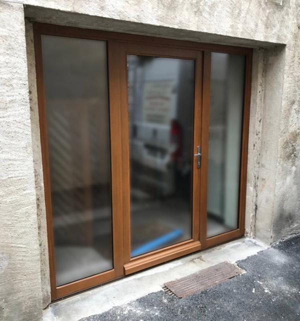 Porte et fenêtre baie vitrée