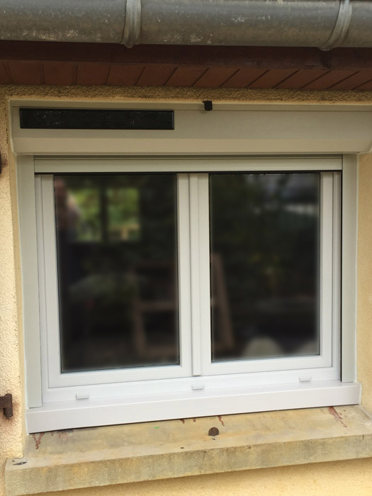 Fenêtre et volet PVC